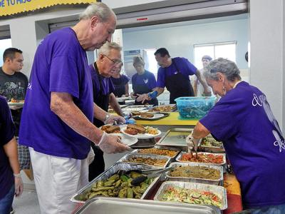 Carol's Kitchen volunteers