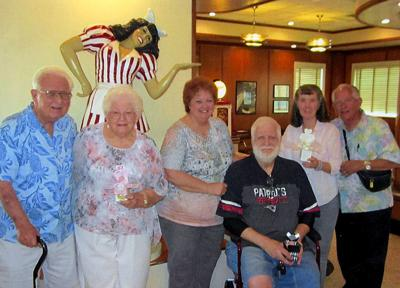 Three couples celebrate total of 156 years of marriage