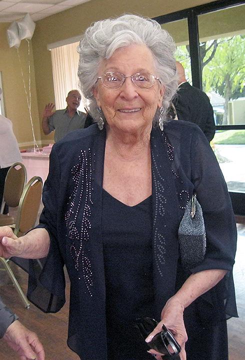 Caroline Chirico 90th birthday party