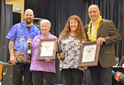 VFW Auxiliary national president visits Post 233, first president from Hawaii