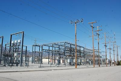 Banning electric substation