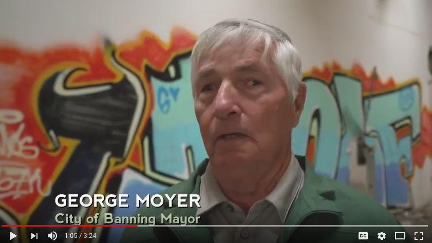 Banning Mayor George Moyer