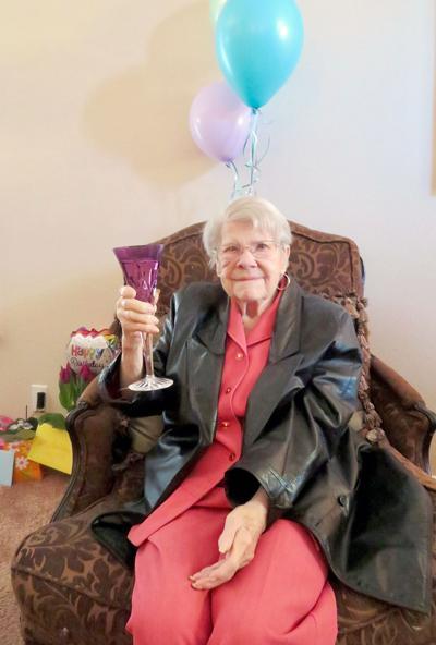Alice Maupin's 105th birthday