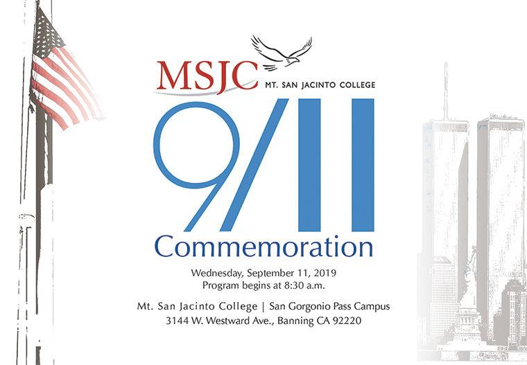 MSJC 9/11 Ceremony