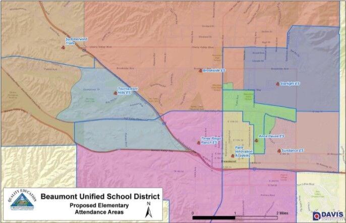 Elementary School boundaries