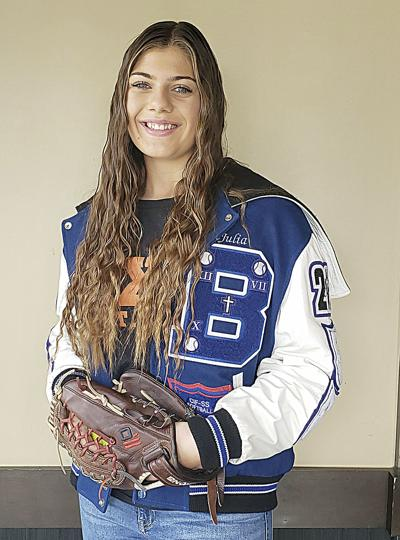 Julia Shepard, a pitcher, at Beaumont High School commits to play at Occidental College