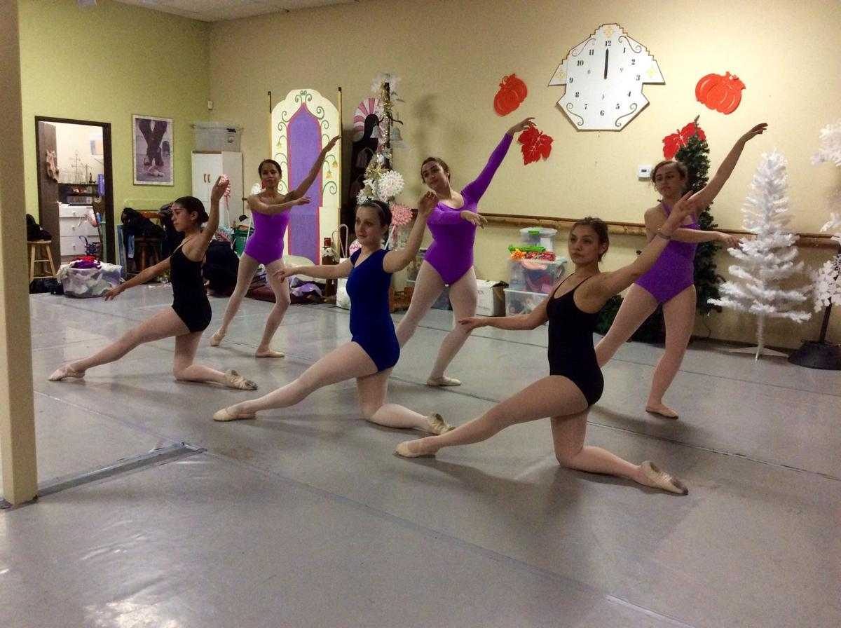 San Gorgonio Ballet performs Nutcracker, Match Girl