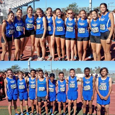 Beaumont High School boys and girls cross country teams