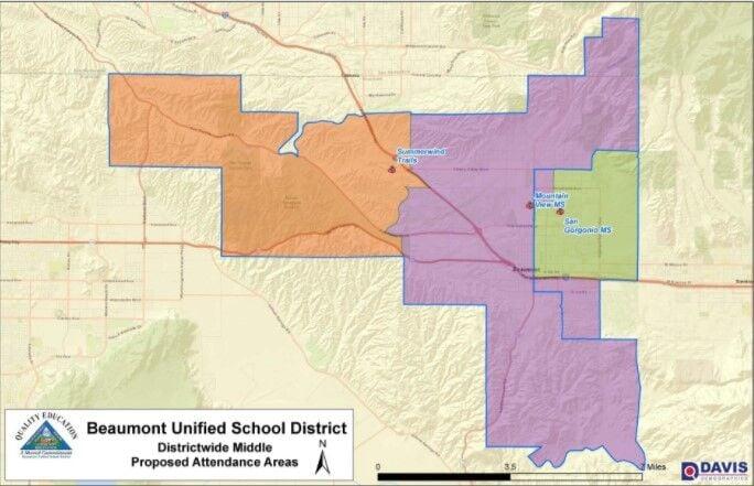 Middle School boundary