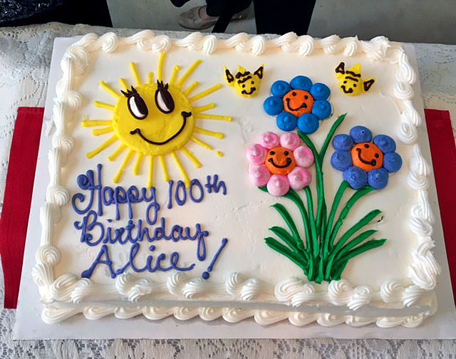 100th Birthday celebration