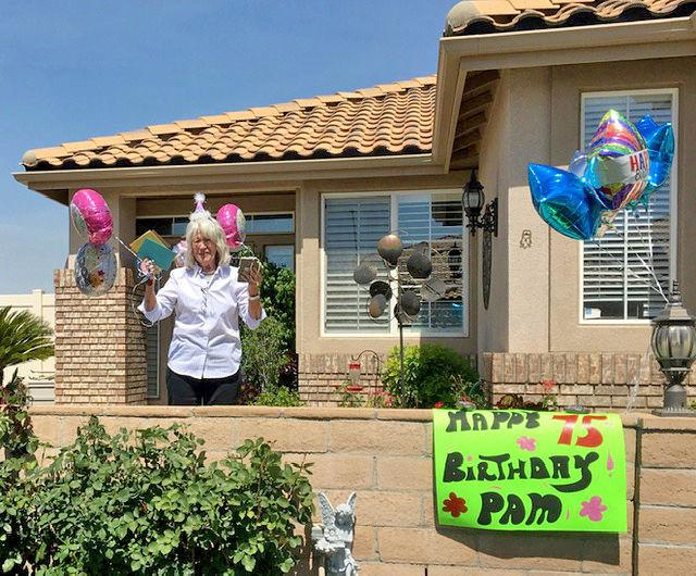 Pam Caldwell's 75th birthday