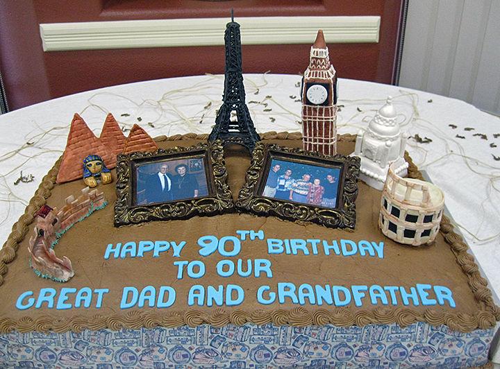 Celebrating Sy Schoen's 90th birthday