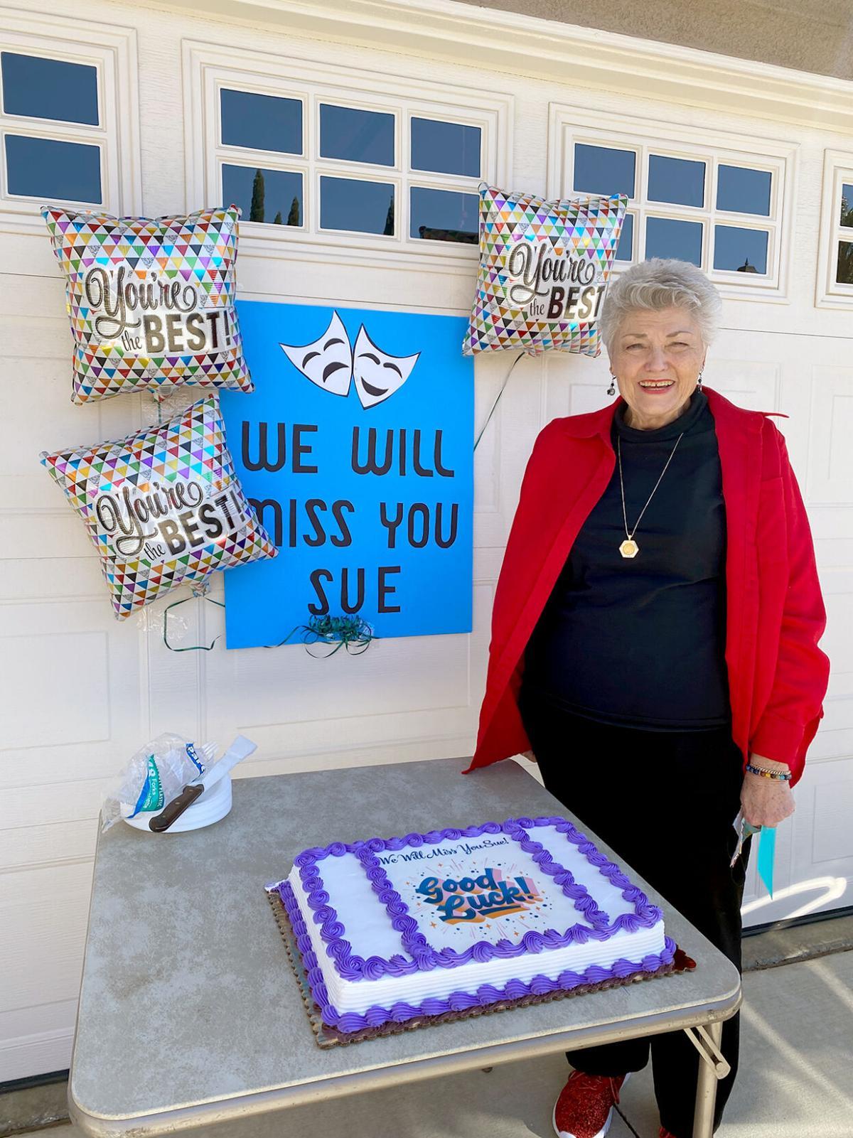 Fond farewells for Sue Dunn