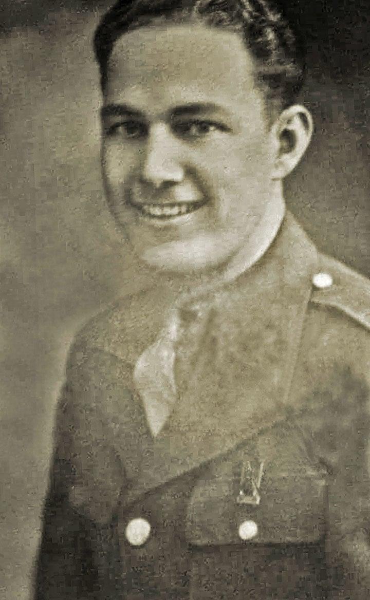 Carl Thompson army photo