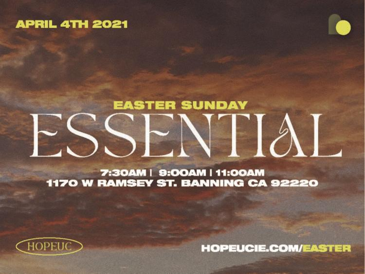 Easter at Hope Unlimited Church