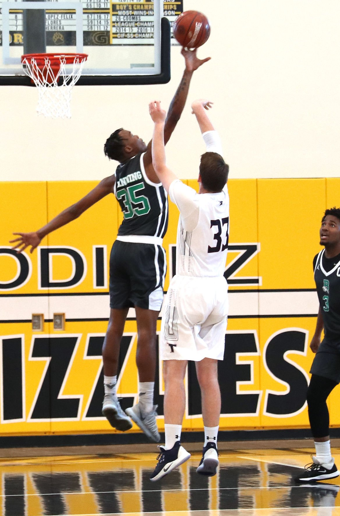 Bronco Keon Mitchell was full tilt on blocking, stealing and rebounding during the CIF title game.