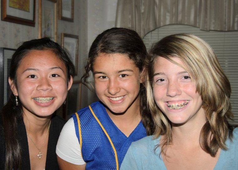 Teen trio