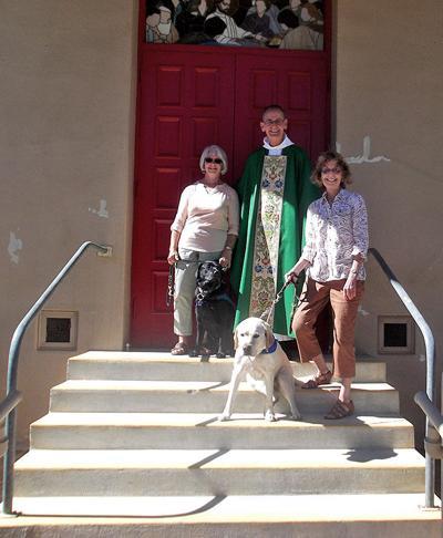 Gertie celebrates birthday at church
