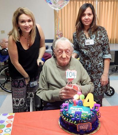 Sam Gallaher 104th birthday