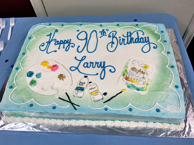 Happy 90th birthday Larry Liebers