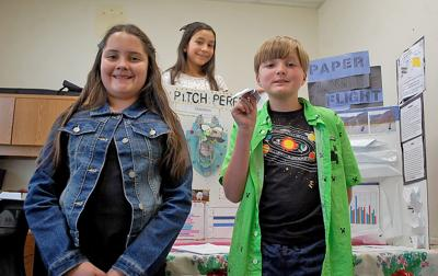Science fair contestants win on a wing and a woof