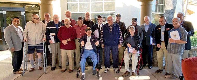 District 19 celebrates its veterans
