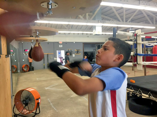 8711c9dc44 Banning s boxing club is turning young lives around