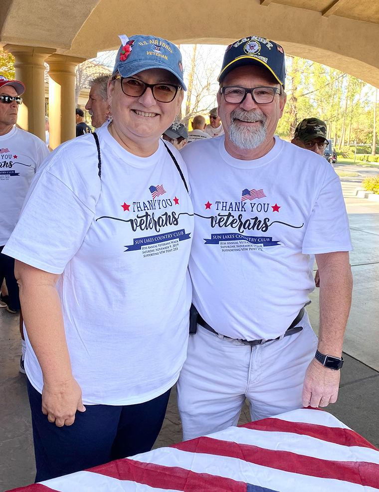 Sun Lakes Veteran's Day Walk