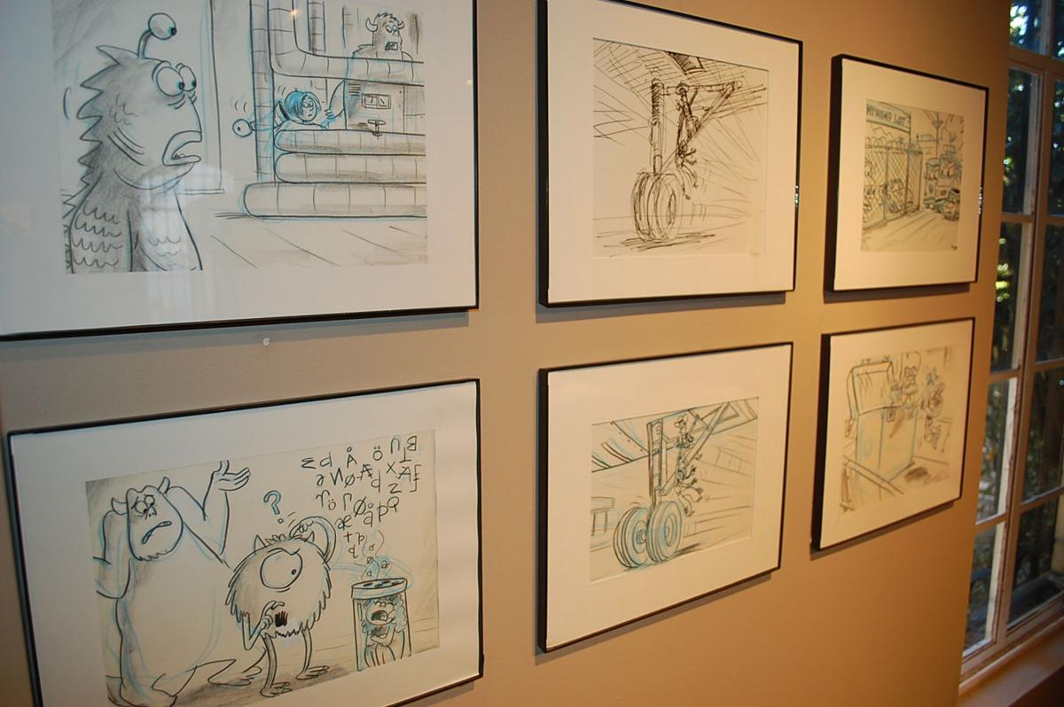 Edward-Dean prepares for its animated exhibit