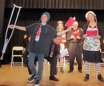 A Christmas Star Cast.Cast Players Present A Seussified Christmas Carol