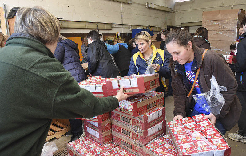 Fayette community members take school bus routes in efforts to deliver meals to students