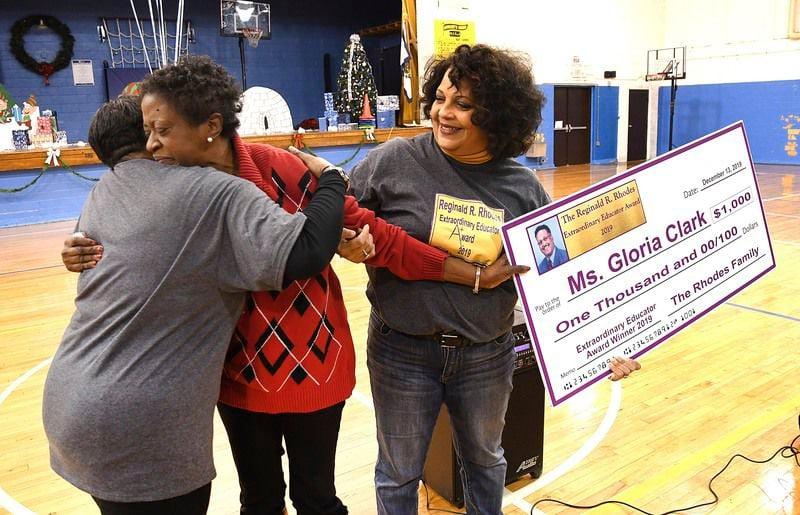 Stratton Elementary teacher receives Reginald R. Rhodes Extraordinary Educator Award