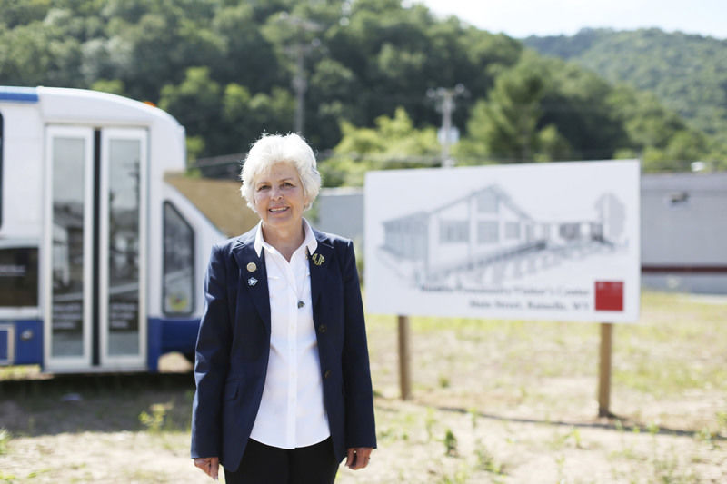 Pendleton honored as Distinguished West Virginian