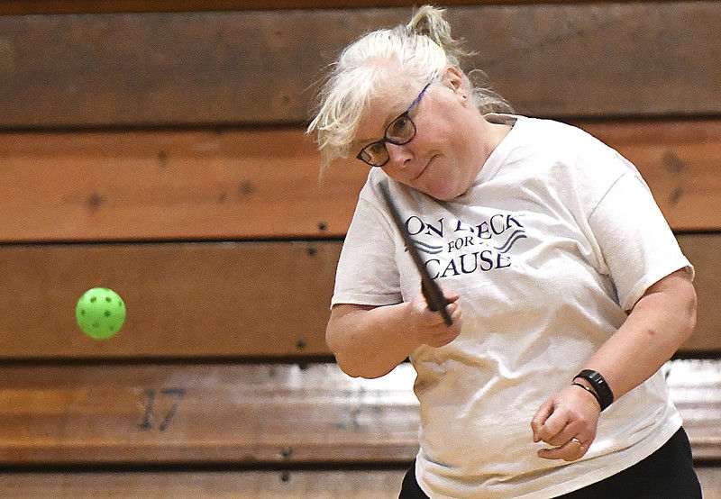 Pickleball a weekly activity in Fayette Sport offers something for people of every fitness level