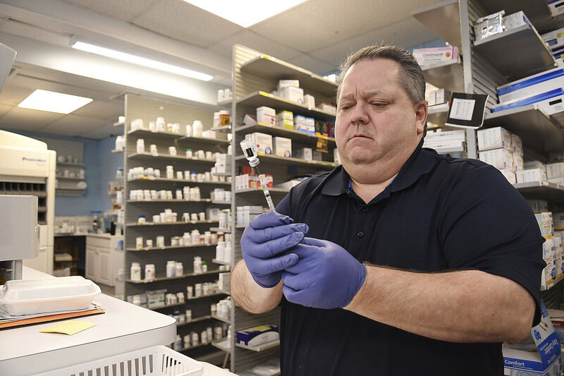 Small pharmacies helping with vaccines