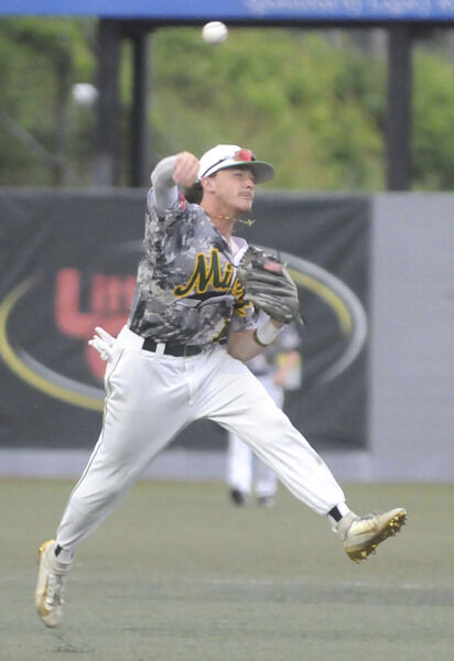 Miners beat Paints in rain-shortened game