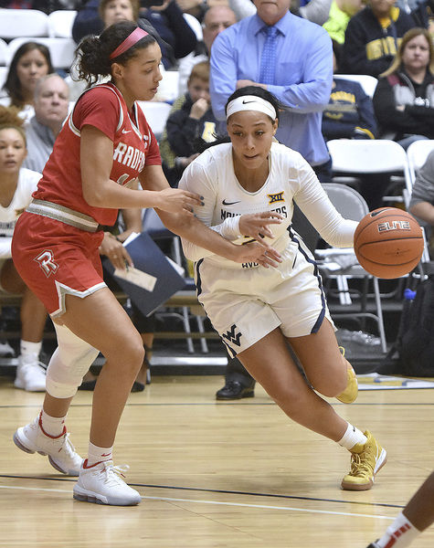 WVU women cruise past Radford