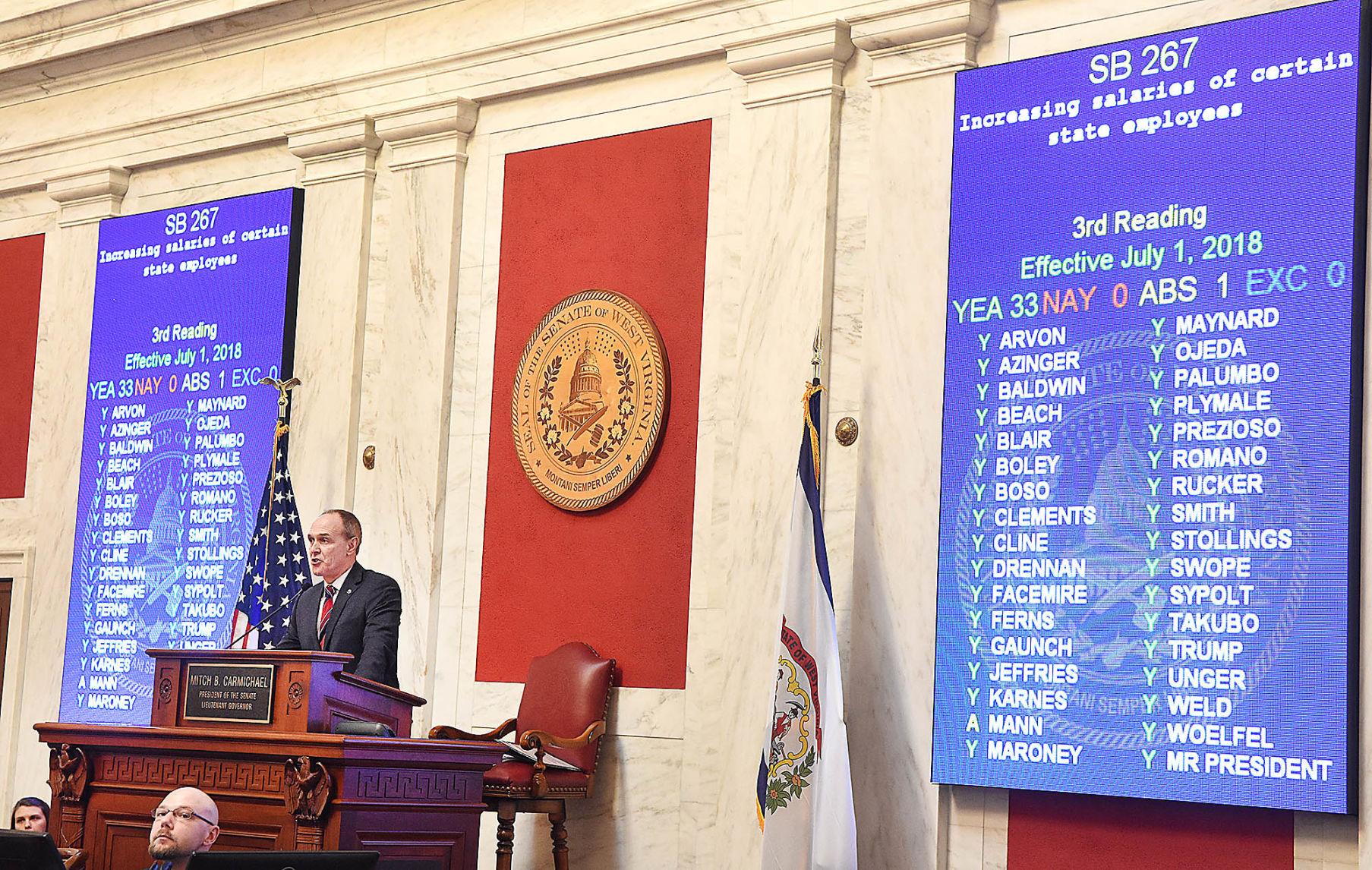 Senate unanimously passes teacher pay raise bill