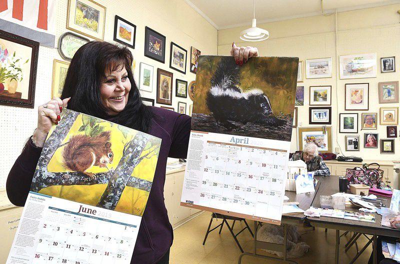 Artists capture essence of wildlife for DNR calendar