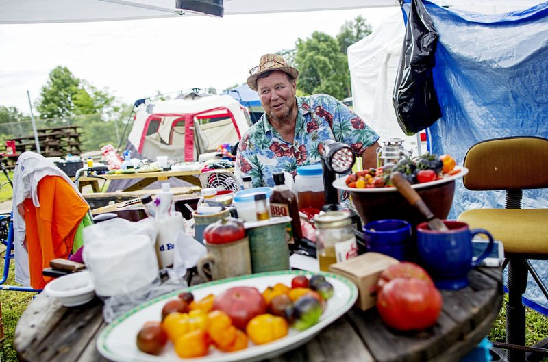Campgrounds represent heart of Appalachian String Band Festival