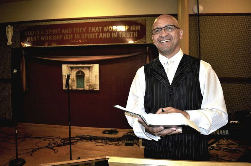 Bishop serves city that's dear to his heart