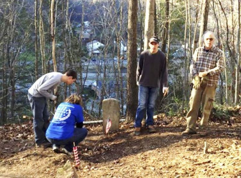RAIL volunteers clear, research the 'Lost Cemetery of Mullens'