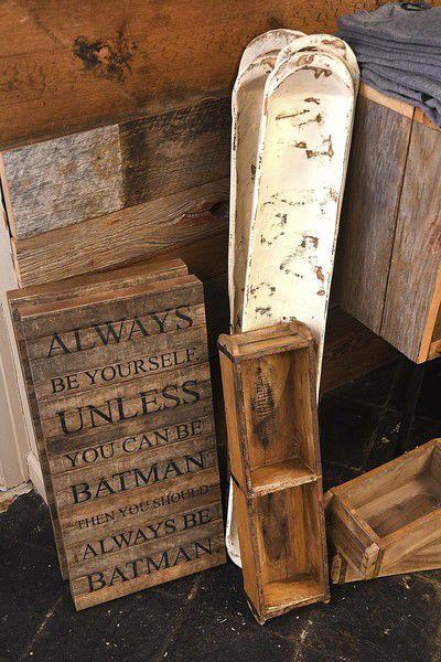 Home base for the curious Barnwood Living provides samples of crew's livelihood, artwork, mindset