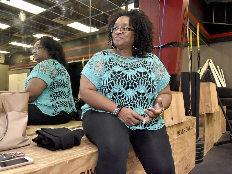 Despite lymph condition, Oak Hill woman excels with weight loss
