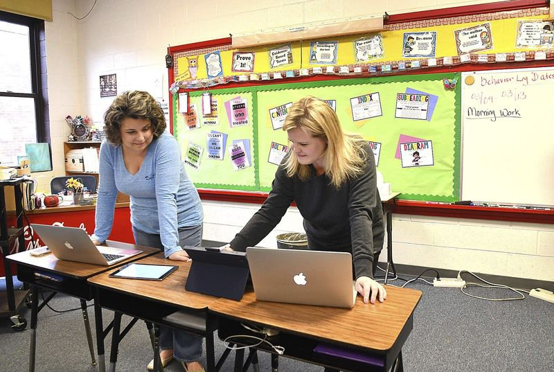 Teachers take on new forms of teaching during the era of technology amid COVID-19