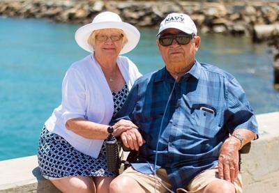 happy elderly people