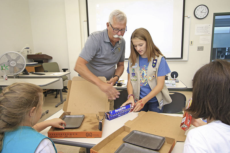 Chocolate and STEM, a Girl Scouting adventure