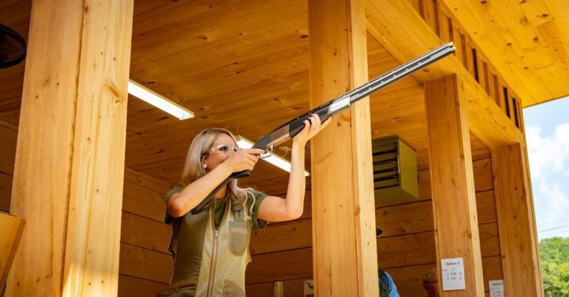 Stonewall Sporting Clays is West Virginia's only complete clay shooting facility