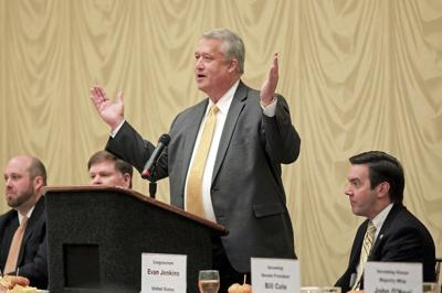 Republicans step into leadership, limelight at Glade Springs event