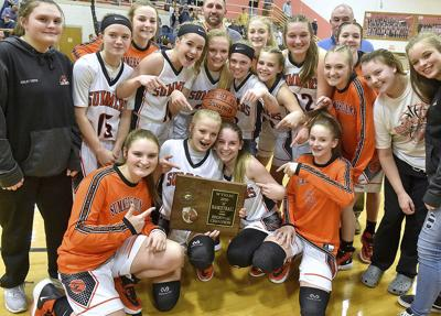 Lady Bobcats outlast Irish for state tournament berth